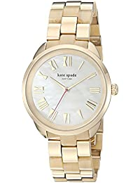 Womens Crosstown Quartz Stainless Steel Casual Watch, Color:Gold-Toned (