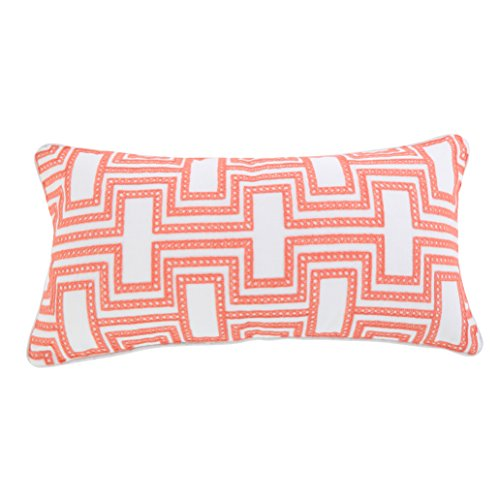Levtex Clementine Spring Crewel Embroidered Pillow ()