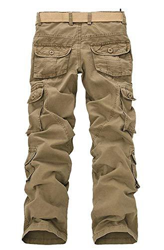 Libre Al Hombre Aire Kahki Algodón De Chinos Chándal Pantalones Bobolily qS8pOax