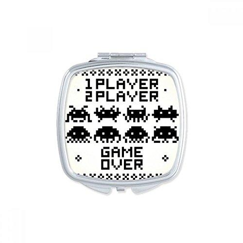 DIYthinker Players Game Over Little Monster Pixel Square Com
