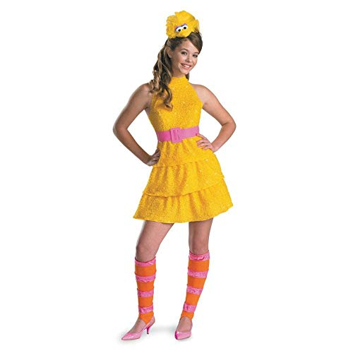 Disguise Big Bird Tween Costume - Large