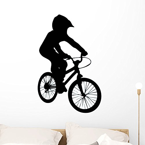 Cheap  Wallmonkeys WM297515 Bmx Wall Decal Peel and Stick Graphic (36 in H..