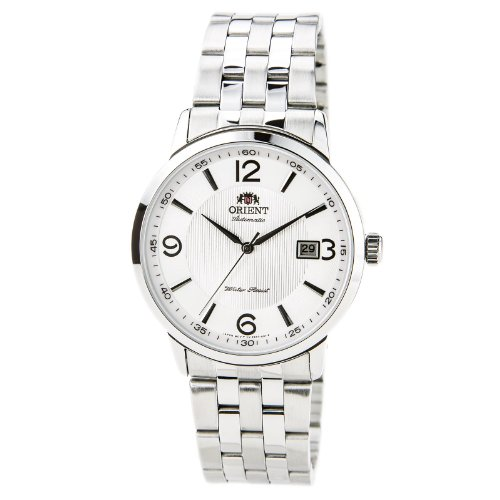 orient white dial watch - 8