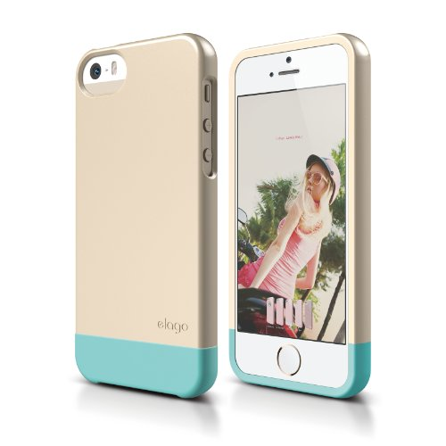 iPhone elago Glide Champagne Coral
