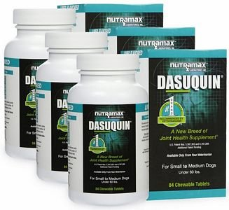 3PACK Dasuquin for Small to Medium Dogs (252 Chewable Tabs)