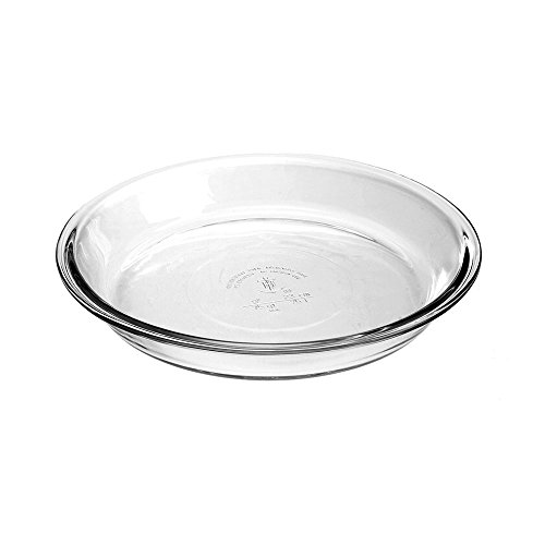 Anchor Hocking 82638L11 Oven Basics Pie Plate Glass, 9