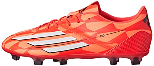 adidas Performance Women's F30 Firm-Ground W Soccer Cleat, Solar Red/Running White/Black, 8 M US by adidas (Image #5)