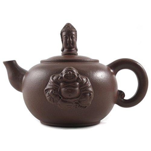 Buddha Yixing Clay 12 Ounce Teapot