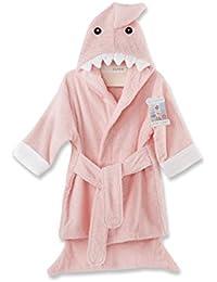 Let the Fun Begin Pink Shark Robe, Pink, 12-18 Months