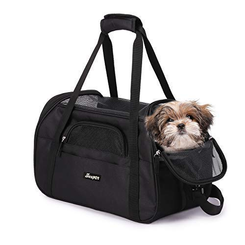 (JESPET Soft Pet Carrier for Small Dogs, Cats, Puppy, 19