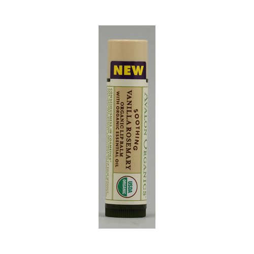 Avalon Organics Soothing Vanilla Rosemary Organic Lip Balm -- 1 Lip (Avalon Organics Bar Soap)