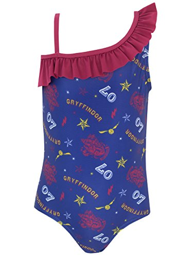 Harry Potter Girls' Gryffindor Swimsuit Size 7 ()