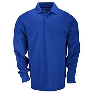 5.11 Tactical #42056 Long Sleeve Professional Polo Shirt (Academy Blue, X-Small)