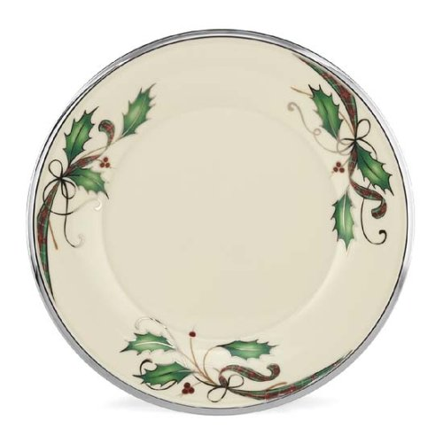 Lenox Holiday Nouveau Platinum 9 Accent Plate