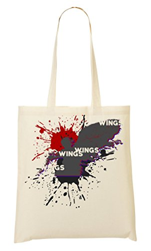 Angels Provisions À Fourre Trash Death Sac CP Tout Polka Creature Wings Sac qWF6Pw1a5