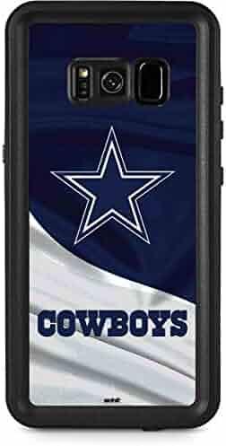 f52980525cd80f Skinit NFL Dallas Cowboys Galaxy S8 Plus Waterproof Case - Dallas Cowboys  Design - Sweat-