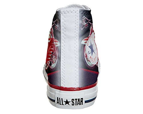Converse All Star Customized - zapatos personalizados (Producto Artesano) motocicleta