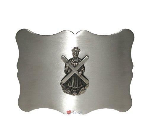 Traditional St Andrew Kilt Belt Buckle Antique I Luv LTD