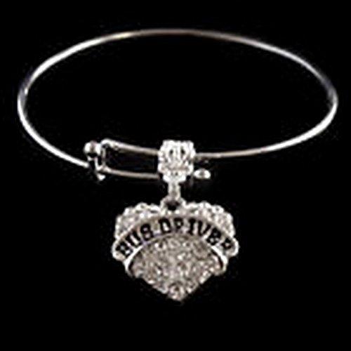[Glamorise Beads - Dance Mom crystal heart charm bracelet Mother mommy Best jewelry gift dancer] (Best Dance Moms Costumes)