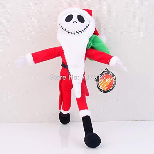 "12/"" The Nightmare Before Christmas Jack Skellington Plush Toy Stuffed Doll Gift"