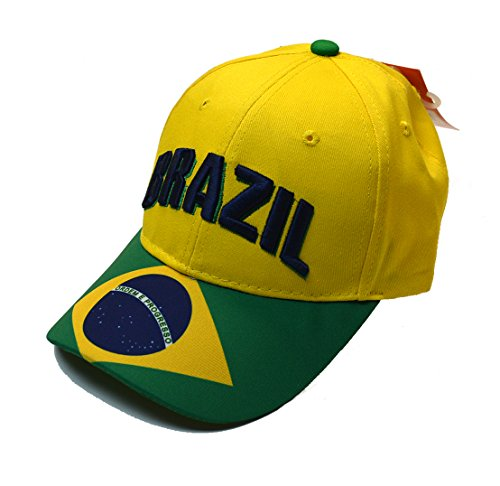 Brazil Cap Hat Brasil Any Sports Soccer World cup Mens Adults (1) - Brazil Soccer Cap