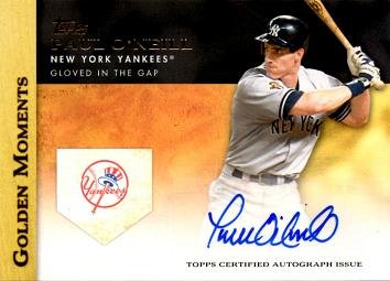 2012 Topps Golden Moments #GMA-PO Paul O'Neill Certified Autograph Baseball Card