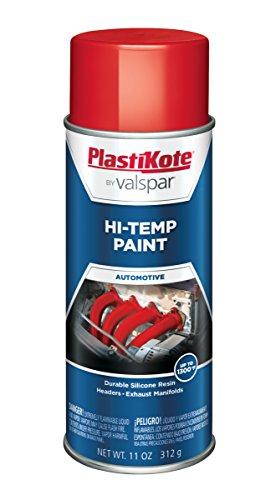 (PlastiKote HP-13 Red Hi-Temp Paint - 11 Oz.)