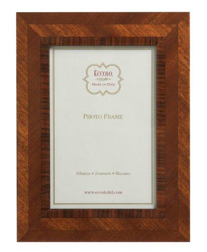[Eccolo MultiGrain Wood Frame, 8 by 10-Inch] (Inlaid Italian)