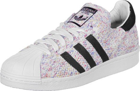 adidas Originals Men's Originals Superstar 80S Primeknit Trainers US10 White with paypal low price excellent cheap price cheap nicekicks tumblr online clearance hot sale iE2F11IXI