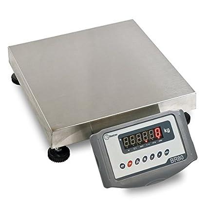 Báscula Monocélula Industrial Resistente Baxtran FOB 503 (150kgx20g) (55x45cm)