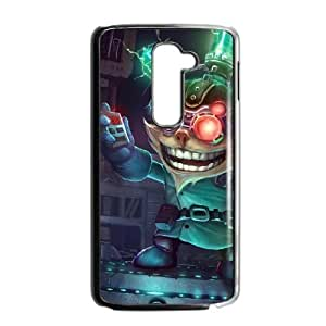 LG G2 phone case Black Ziggs league of legends SDF4524309