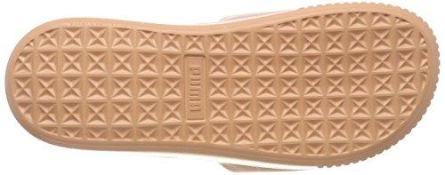 Playa Black Puma Zapatos Mujer Wns Slide Y Platform dusty Naranja Coral puma De Para Piscina wq6Xgw