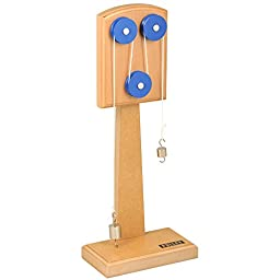 Simple Wooden Machine: Pulley Model, (3855)