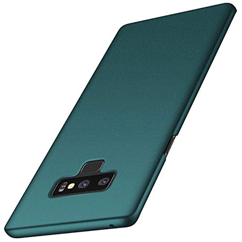 Anccer Compatible for Galaxy Note 9 Case [Colorful Series] [Ultra-Thin] [Anti-Drop] Premium Material Slim Full Protection Cover for Samsung Galaxy Note9 - Gravel Green