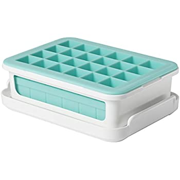 OXO Good Grips Silicone Small Ice Cube Tray for Cocktails with Lid