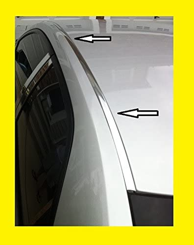 Door Pillar Fits 2005-2010 CHRYSLER 300 /& 300C 2006 2007 2008 2009 Chrome Door Pillar Post Trim by IKON MOTORSPORTS