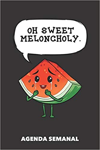 Agenda Semanal: Oh dulce melancolía A5 manuscrito floral ...