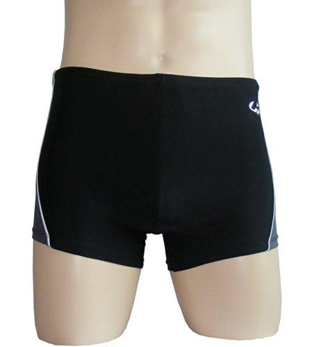 Colorfulworldstore Fashion Men's boxer swim trunks-Classic swim shorts-sexy Men's boxer swinsuit (XXL-86cm-190cm high-85kg, - Swinsuits Mens