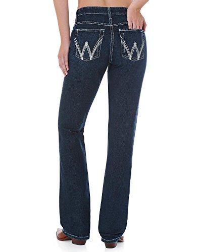 Wrangler Women's Dark Wash Cool Vantage Ultimate Riding Q- Jeans Denim 5W x (Q-baby Ultimate Riding Jeans)