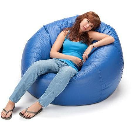 Enjoyable Very Relaxing And Comfortable Jumbo Shiny Bean Bag 132 Spiritservingveterans Wood Chair Design Ideas Spiritservingveteransorg