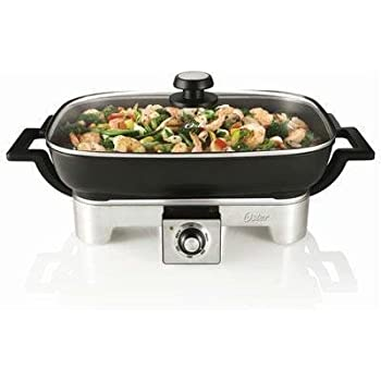 Amazon Com Electric Skillet With Removable Pan This