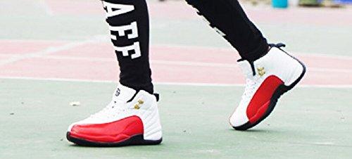 Jiye Mens Basketskor För Kvinnor Gymnastik Rött
