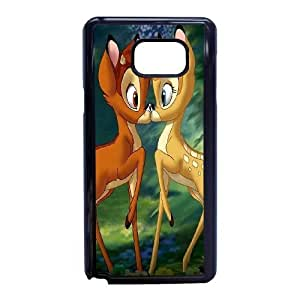 Bambi-008 For Samsung Galaxy Note 5 Cell Phone Case Black Protective Cover xin2jy-4324957