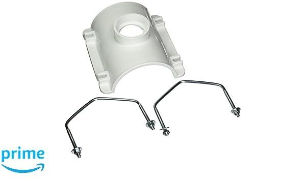 Oatey 43791 PVC Saddle Tee Kit 4-Inch x 2-Inch