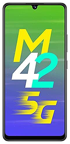 (Renewed) Samsung Galaxy M42 5G (Prism Dot Black, 8GB RAM, 128GB Storage)