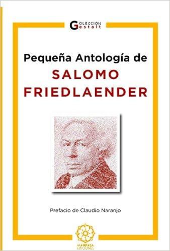 Pequeña Antología De S. Friedlaender