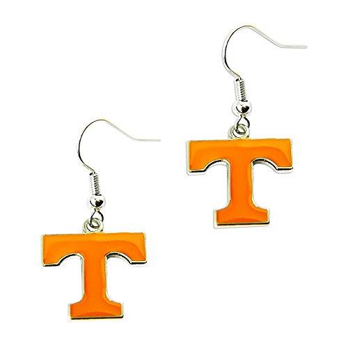 Tennessee VOLS Volunteers Dangle Logo Earring Set Ncaa Charm Gift (Volunteers Charm Tennessee)