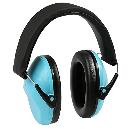 Pickup Old Body (Kids Earmuffs Hearing Protection, LEADSTAR Adjustable Headband Ear Defenders Noise Reduction for Children, Infants and Small Adults, Blue)