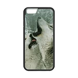 """ALICASE Diy Hard Cover Case Of Gray Wolf for iPhone 6 (4.7"""") [Pattern-1]"""