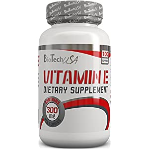 BiotechUSA Vitamin E 400 100 Softgel Capsules Vitamins And Minerals